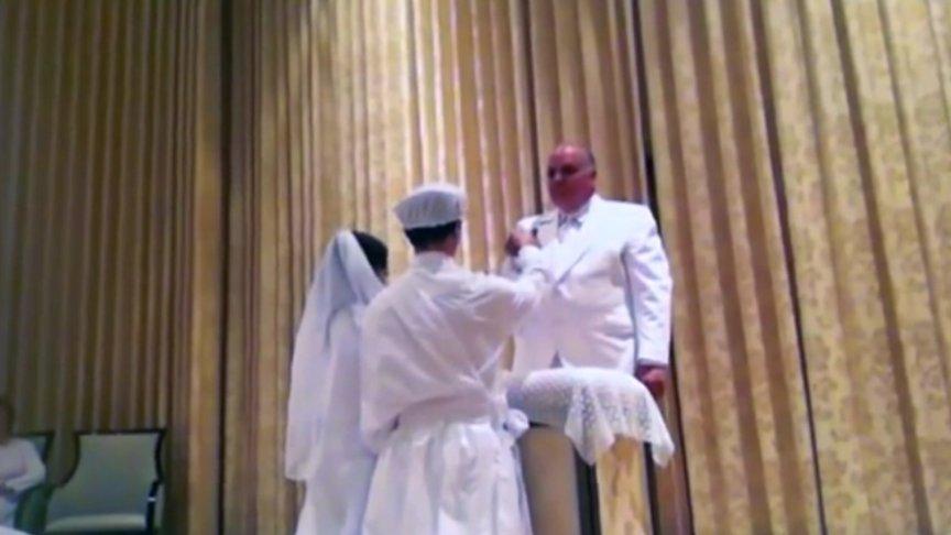 Świątynia mormonów w środku – cała ceremonia z ukrytej kamery